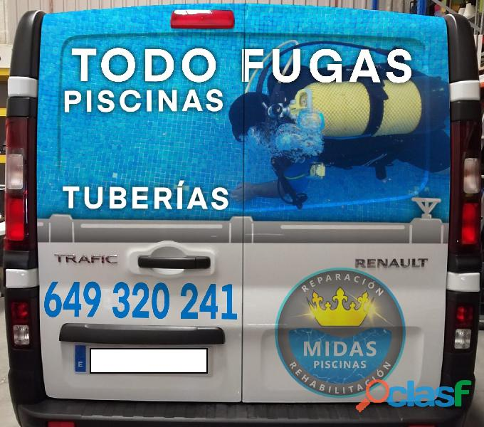 FUGA DE AGUA EN PISCINAS 1