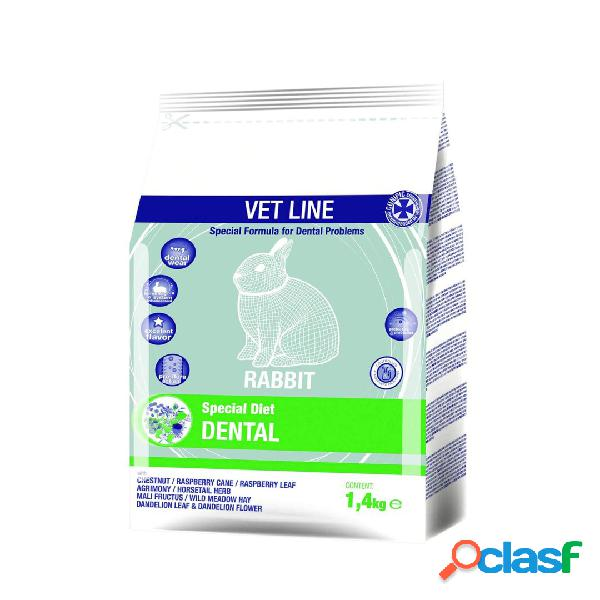Cunipic vet line rabbit dental 1,4 kg.