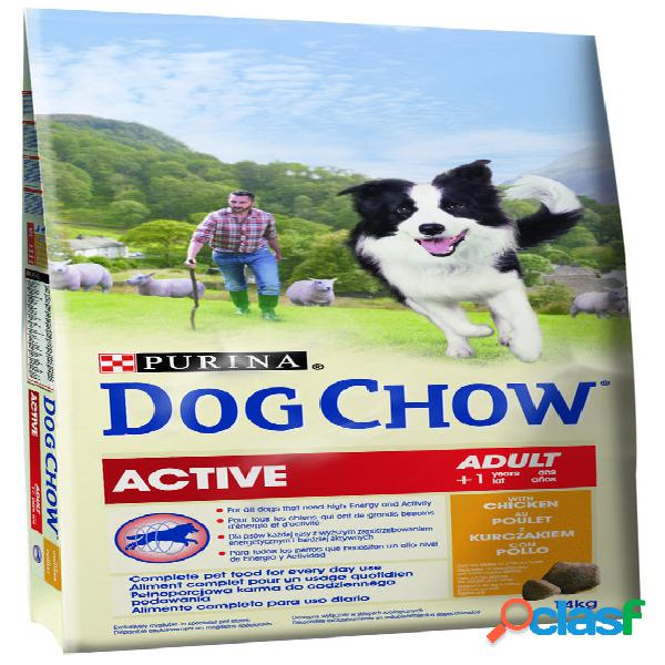 Dog chow adult active pollo 14 kg.