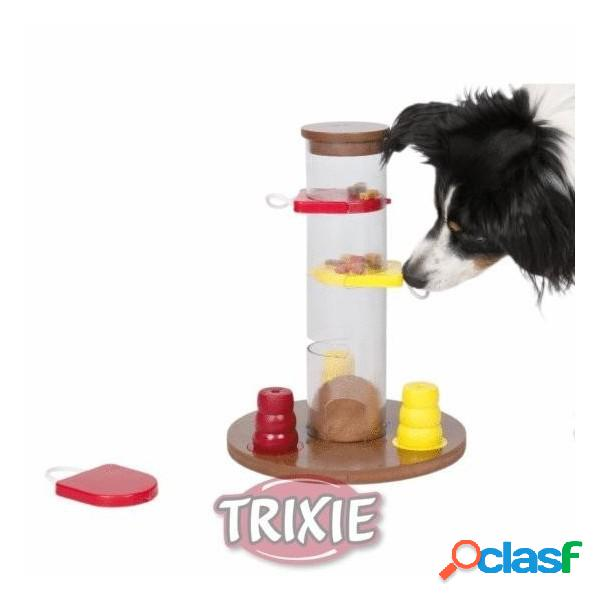 Dog activity gambling tower, ø 25 cm,33 cm, niv. 1
