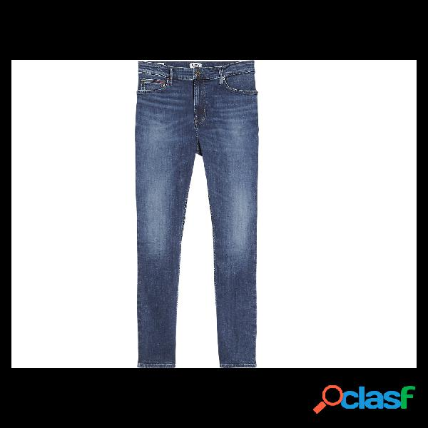 Tommy Jeans Vaqueros Normales De Hombre, Talla 32 - DM0DM07320 L32 SIMON SKINNY NSUDK JEANS MARINO