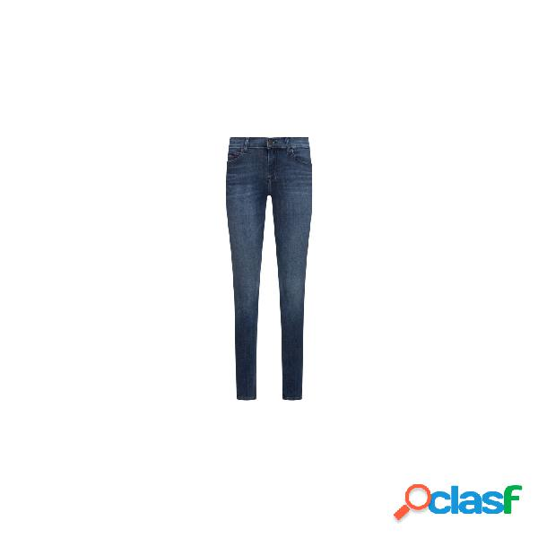 Tommy jeans vaqueros normales de mujer, talla 30 - dw0dw07464 l.32 nora mid rise skinny crpsd jeans marino