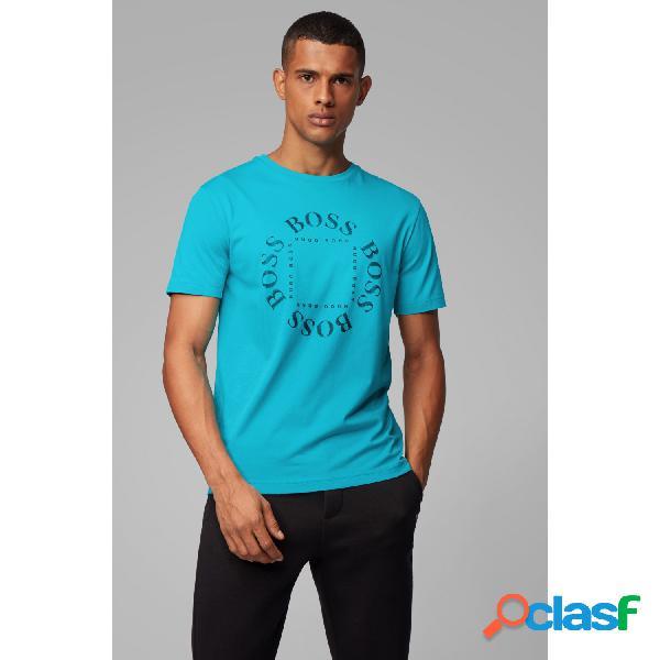 Hugo boss camisetas manga corta de hombre, talla m - 50418532 tee 1 turquesa