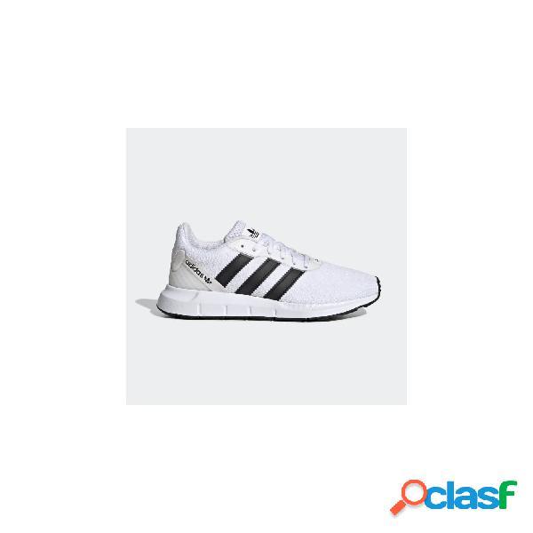 Adidas originals zapatillas de chico, talla 39 - fw1706 swift run rf j blanco-negro
