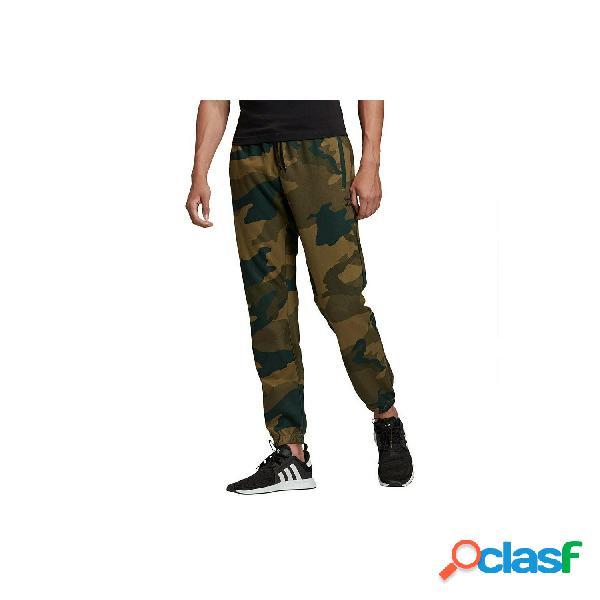 Adidas originals pantalones deporte de hombre, talla l - fm3362 camo pant verde