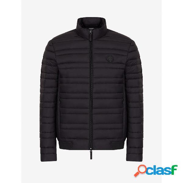 Armani exchange chaquetas abrigo de hombre, talla m - 8nzb51znw3z man woven down jacket negro