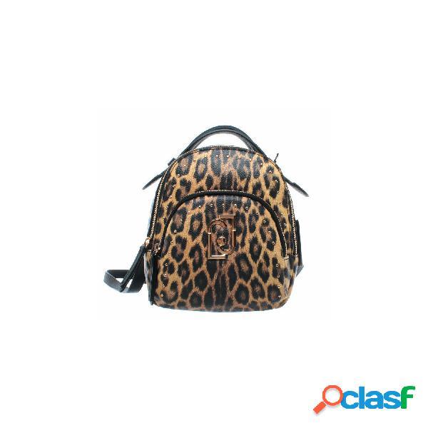 Liujo mochilas de mujer, talla unica - a69140e0419 s backpack leopardo