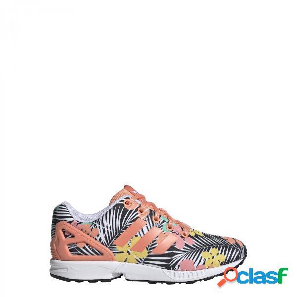 Adidas originals zapatillas de chica, talla 38m - eg4116 zx flux j multicolor