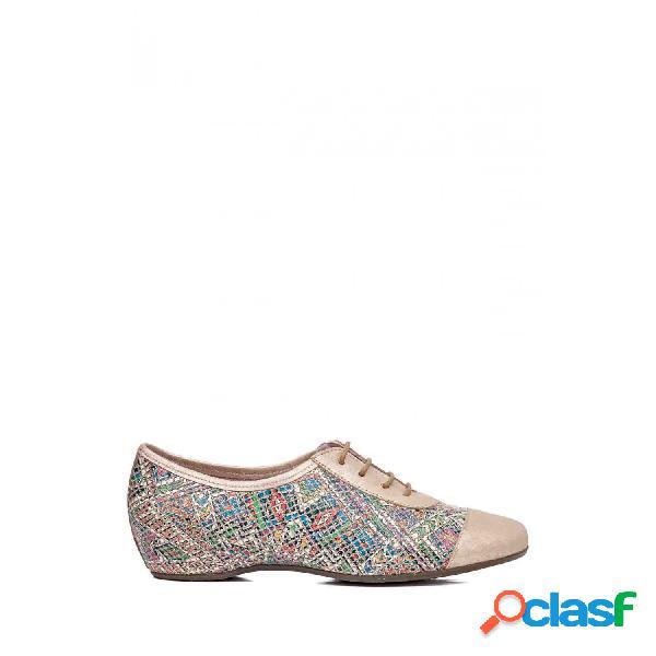 Callaghan zapatos con cordones de mujer, talla 39 - 17904 anton multi-n.4 multicolor-beige