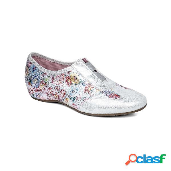 Callaghan zapatos con cordones de mujer, talla 39 - 17982 marley plata-multicolor