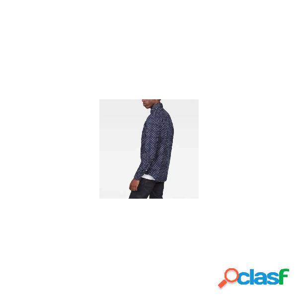 G-star camisas manga larga de hombre, talla m - d10743a585 bristum utility shirt l/s marino