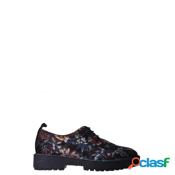 Hispanitas zapatos con cordones de mujer, talla 37 - hi87933 curry sop-i8 multicolor