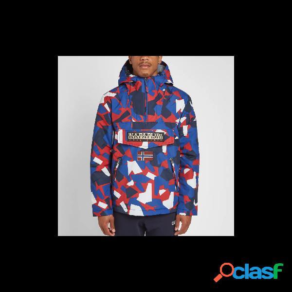 Napapijri chaquetas abrigo de hombre, talla xl - n0yitf rainforest pkt print multicolor