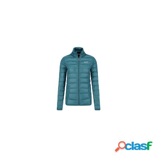 Emporio armani 7 chaquetas finas de mujer, talla m - 8ntb13tn12z down jacket azul