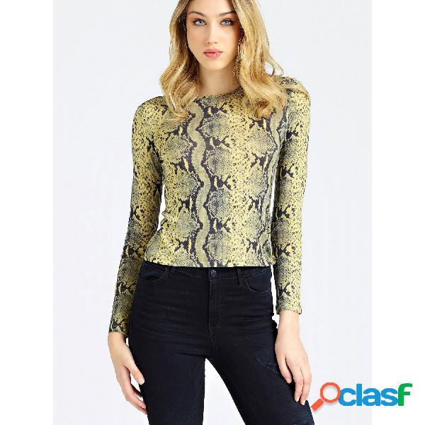 Guess camisetas de manga larga de mujer, talla m - w94p80k9bv0 irina top amarillo-negro