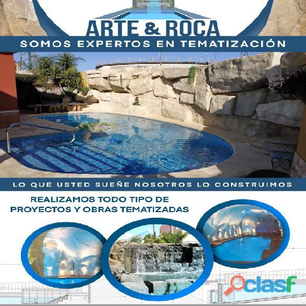 CASCADAS Y ROCAS ARTIFICIALES 4
