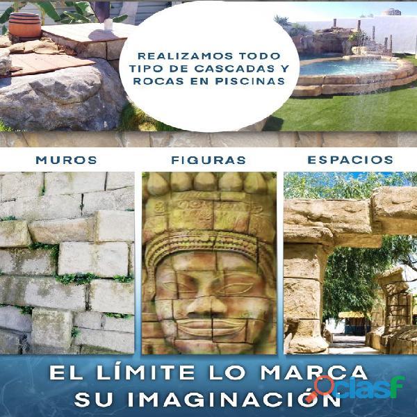 CASCADAS Y ROCAS ARTIFICIALES 3