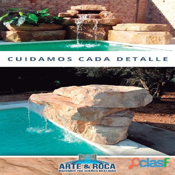 CASCADAS Y ROCAS ARTIFICIALES 1
