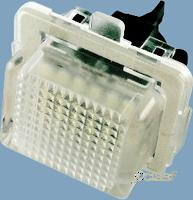 Luz matricula led set me c w204/clk w207/e w212/cl w216/s w221 (canbus