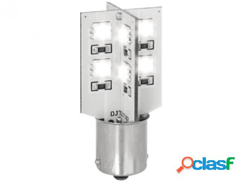 Bombilla ba15s with 18 smd led_canbus_blanco (1 piece)
