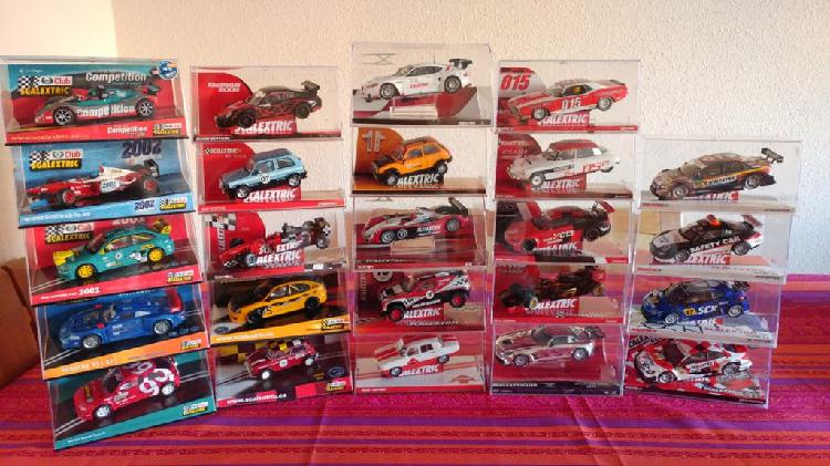 Coches club scalextric.