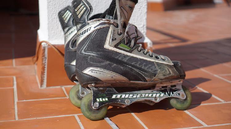 Patines hockey : bauer mission talla 43