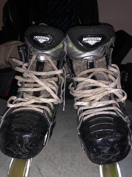 Patines de hockey línea mission nls1