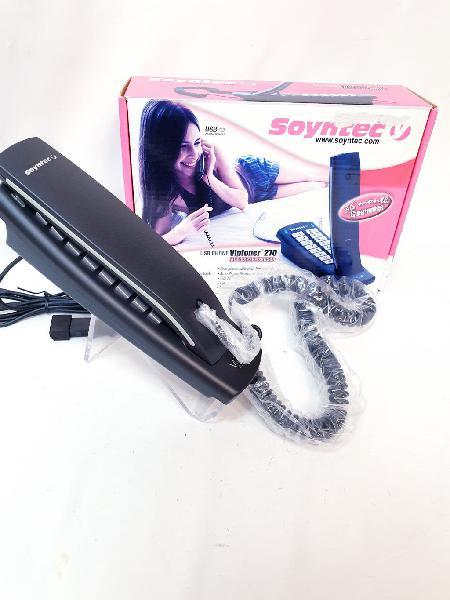 Teléfono fijo soyntec ip vipfoner 270 usb nuevo
