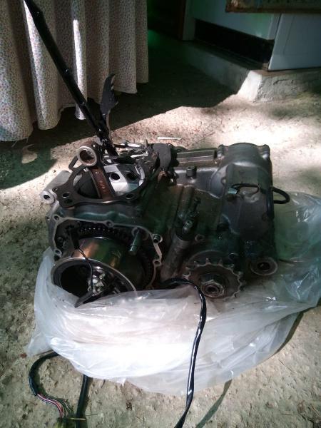 Bloque motor drz 400 sm