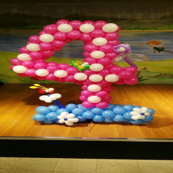 Globos, decoración con globos