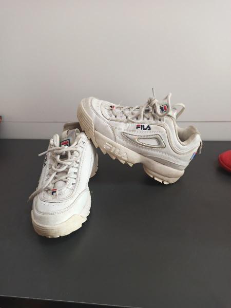 Zapatillas fila niña