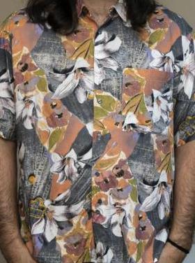 Camisa vintage años 80