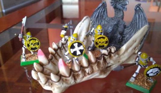 Esqueletos warhammer no muertos