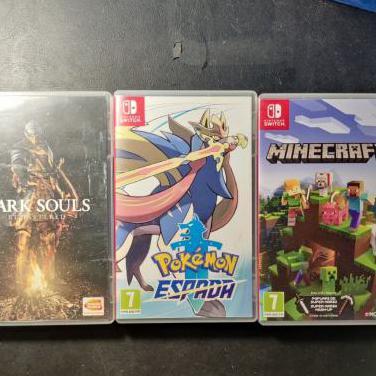 Intercambio juegos switch