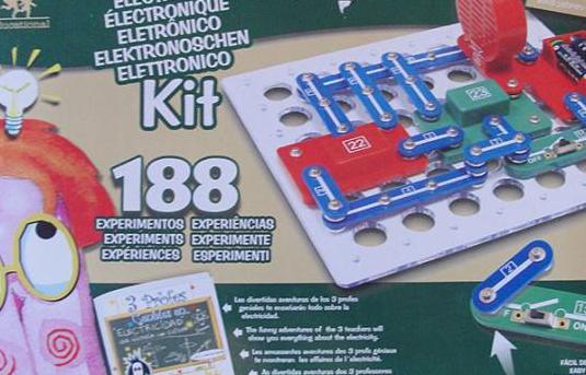 Lote 2 juegos - kit electronico 88 y 188