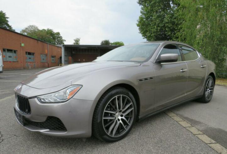 Maserati ghibli 3.0 v6 sq4