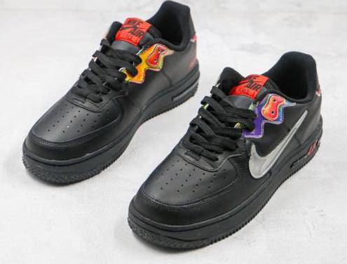 Nike air force 1 (black, colours)
