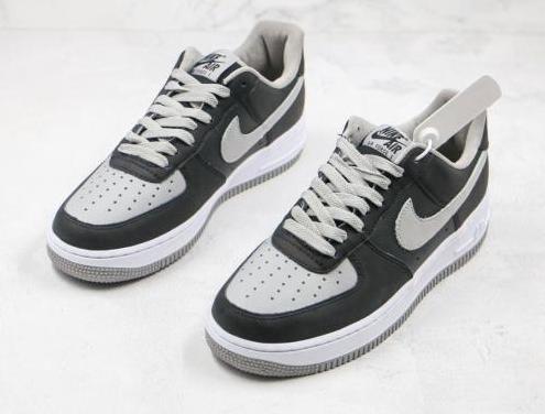 Nike air force 1 (black, grey)
