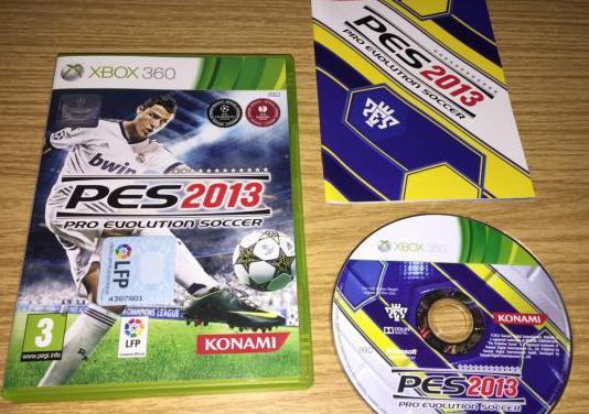 Pro evolution soccer 2013 juego original xbox360