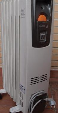 Radiador eléctrico fagor 1500w
