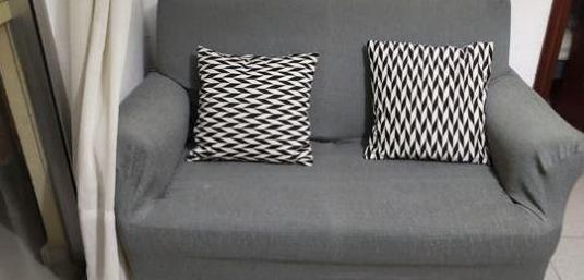 Sofá cama de dos plazas de buena calidad