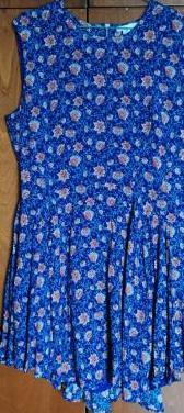 Vestido mini de flores