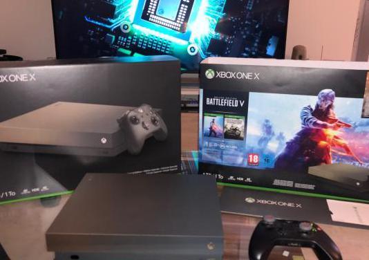 Xbox one x 1tb 4k hdr10 edición oro