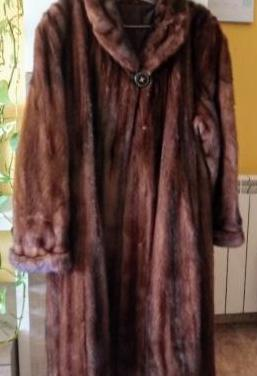 Abrigo de vison original auténtico