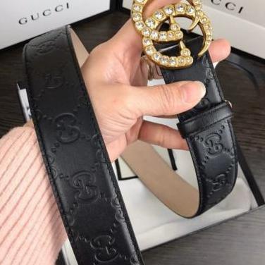 Gucci cinturones brillantes