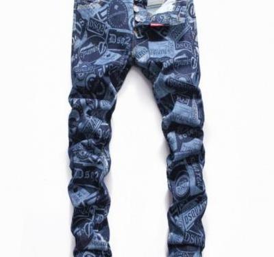 Pantalones dsquared versace