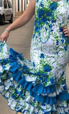Traje de flamenca talla 44 -46