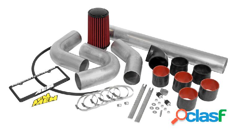 """Universal cold air intake system 4"""" universal custom assembly"""