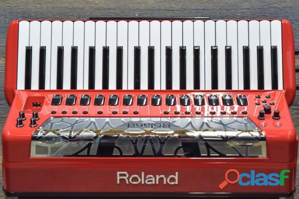 Acordeón Roland FR 8X RD V Rojo