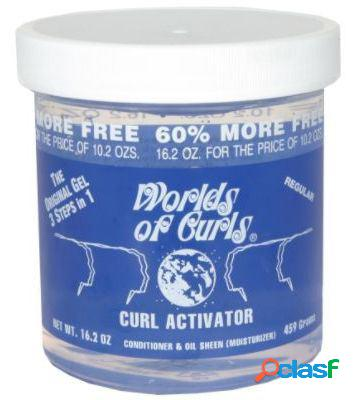 Worlds of curls curl activator for normal air 400 ml 400 ml